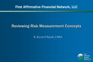Reviewing Risk Measurement Concepts