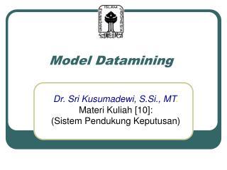 Model Datamining