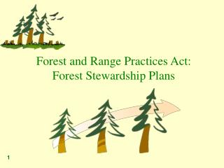 Forest and Range Practices Act:  Forest Stewardship Plans