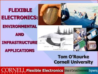 FLEXIBLE ELECTRONICS:  ENVIRONMENTAL  AND  INFRASTRUCTURE APPLICATIONS