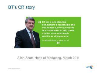 BT's CR story