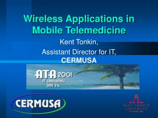 Wireless Applications in Mobile Telemedicine