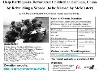 … to link Mac to children in China for many years to come …