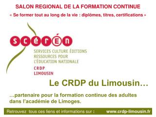 SALON REGIONAL DE LA FORMATION CONTINUE