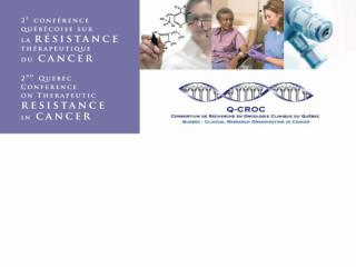 2nd Quebec Conference on Therapeutic Resistance in Cancer