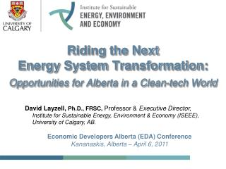 Riding the Next  Energy System Transformation: Opportunities for Alberta in a Clean-tech World