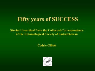 Fifty years of SUCCESS