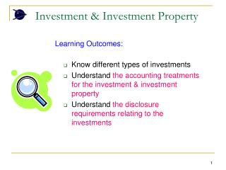 Investment & Investment Property