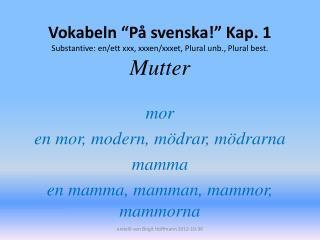 mor en mor, modern, mödrar, mödrarna mamma en mamma, mamman, mammor, mammorna