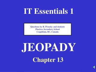 IT Essentials 1
