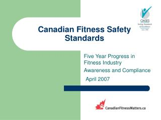 Canadian Fitness Safety Standards