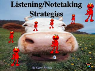 Listening/Notetaking Strategies