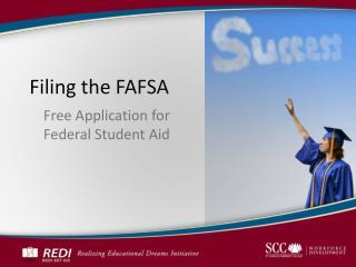 Filing the FAFSA
