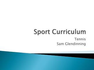 Sport Curriculum