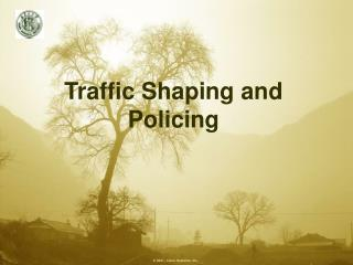 Traffic Shaping and Policing