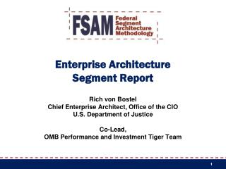 Enterprise Architecture Segment Report