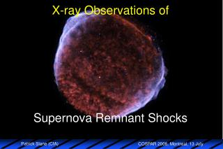 X-ray Observations of