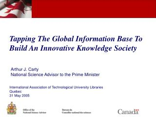 Tapping The Global Information Base To Build An Innovative Knowledge Society