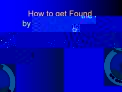 How to get Found by the Civil Air Patrol