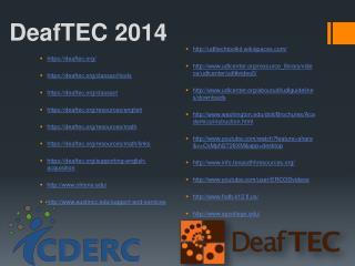 DeafTEC 2014