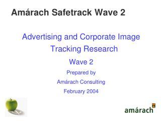 Amárach Safetrack Wave 2