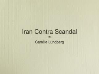 Iran Contra Scandal