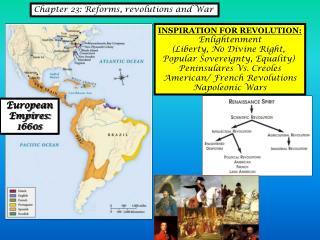 European Empires:  1660s