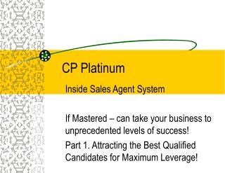 CP Platinum