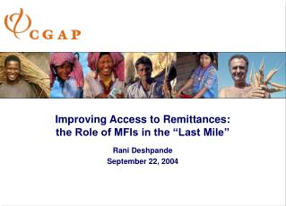 "Improving Access to Remittances:  the Role of MFIs in the ""Last Mile"""