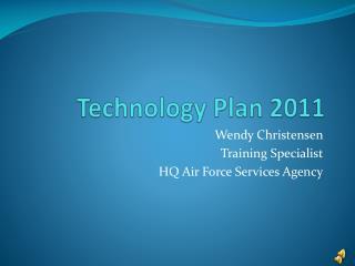 Technology Plan 2011
