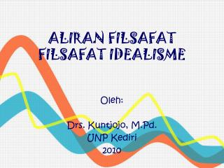 ALIRAN FILSAFAT FILSAFAT IDEALISME
