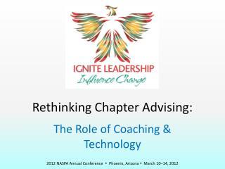 Rethinking Chapter Advising: