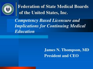Competency Based Licensure and Implications for Continuing Medical Education