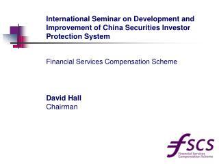 David Hall Chairman