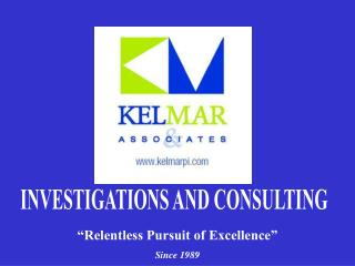 INVESTIGATIONS AND CONSULTING