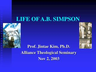 LIFE OF A.B. SIMPSON
