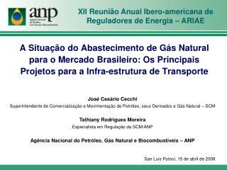XII Reunião Anual Ibero-americana de Reguladores de Energia – ARIAE