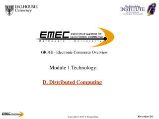 D. Distributed Computing