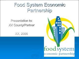 Food System Economic Partnership