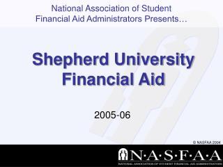 Shepherd University Financial Aid