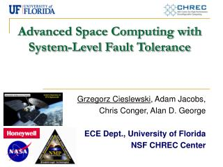 Advanced Space Computing with System-Level Fault Tolerance