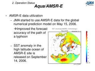 Aqua/AMSR-E