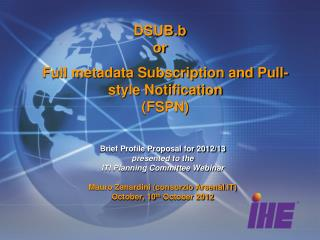Full metadata Subscription and Pull-style Notification  (FSPN)