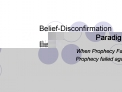 Belief-Disconfirmation Paradigm