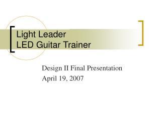 Light Leader