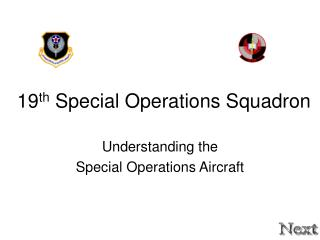 19 th  Special Operations Squadron