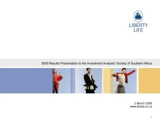 2005 Results Presentation to the Investment Analysts' Society of Southern Africa