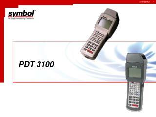 PDT 3100