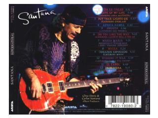 Africa Bamba Carlos Santana (Toure, Tidiane Toure, Santana, and Perazzo) Ella baila la  portugueza