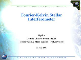 Fourier-Kelvin Stellar Interferometer